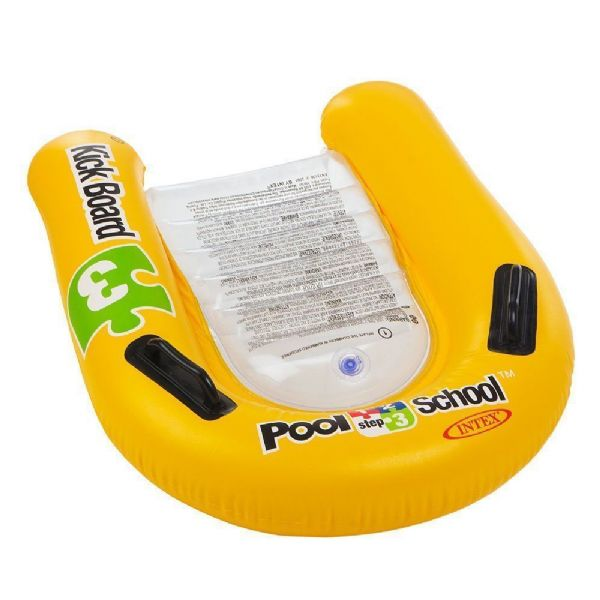 Intex 1-2-3 Pool School Deluxe Kickboard swimming Pool  Age 4-12 years Step 3